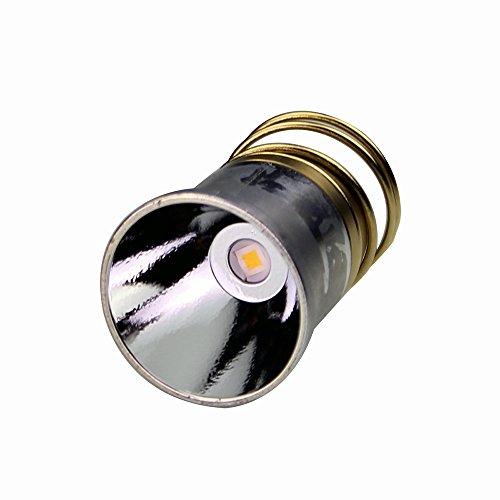 Light Led Tactical 6v (Flashlight LED Bulb 1000 lumens CREE XP-L/XP-L HI LED single/tree/five mode 2.4-9v replacement furefire 6p G2)