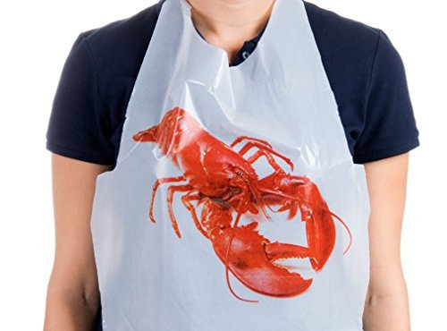 10 Pack Disposable Lobster Bibs