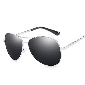 PANDIUK Gafas de Sol Unisex Polarized Pilot Driving Marco de ...
