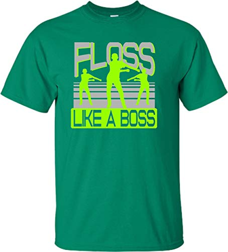 YS 6-8 Kelly Green Youth Floss Like A Boss -