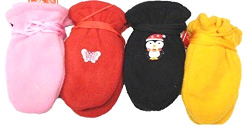 four-pairs-fleece-microfiber-mittens-and-gloves-for-infants-ages-0-12-months