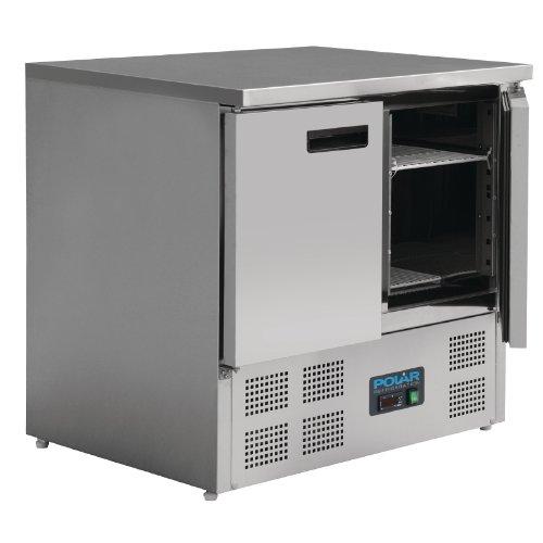 Table réfrigérée compacte 2 portes 240 Litres Polar