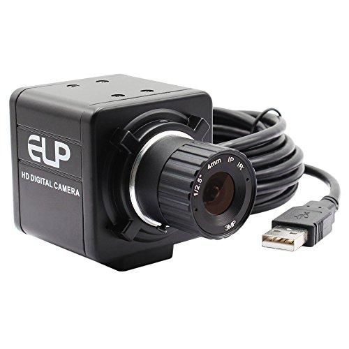 (ELP 4mm Lens Aluminum Industrial Box Housing 960P Industrial Camera )