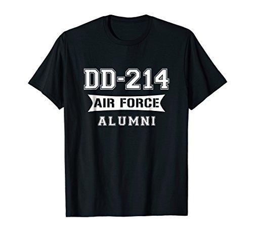 DD-214 Alumni T-shirt Air Force Men & Women