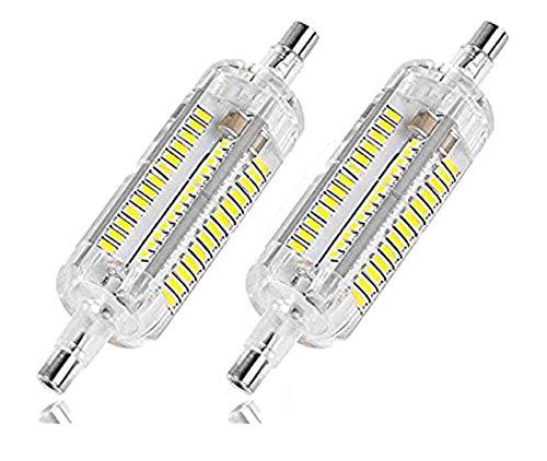 5W 78mm LED Bulbs(2 Pack) - J78mm Double Ended R7S SMD 2835 LED Light Bulb White 6000K,R7S Flood Lights Quartz Tube Lamps Energy Saving Replace Halogen Light,AC110V,2 Pack ()