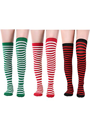 adb818936f0 Sumind St. Patrick s Day Tights Women Long Irish Socks Over Knee Thigh High  Stockings for