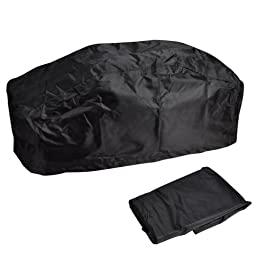 Koval Inc. Waterproof and Dust Proof Winch Cover to Fit 15,000-17,000 LB Size Winches