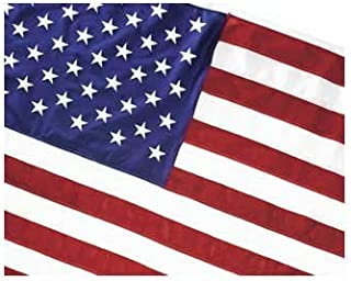 "product image for Valley Forge Government Specified United States Traditional Flag Size: 28"" x 54"", Material: Nylon"