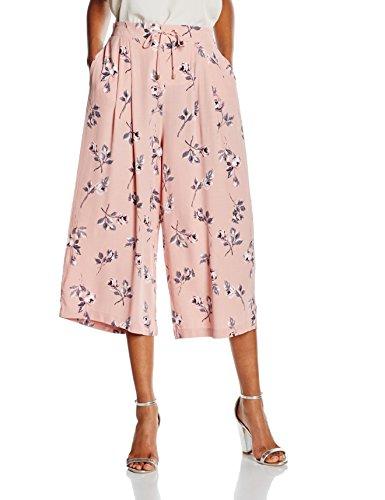 New Look Damen Hose Indi Culotte, Rosa-Pink (Pink Patterned), Rosa - Pink (Pink Patterned), EU 38(Herstellergröße:10)