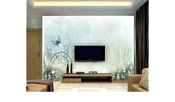 Whian 3D Papel Pintado Mural Sala De Estar Dormitorio Pintura De ...