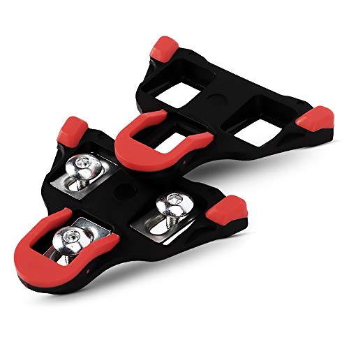 Spd Sl Cleat Set - Bosiwee Road Bike Cleats for Shimano SH11 SPD-SL Shoes, 6 Degree Float, for Indoor Cycling or Road Bike Bicycle Pedals