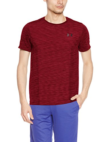1289596 shirt Under Red T Uomo Armour 001 H1wqw85