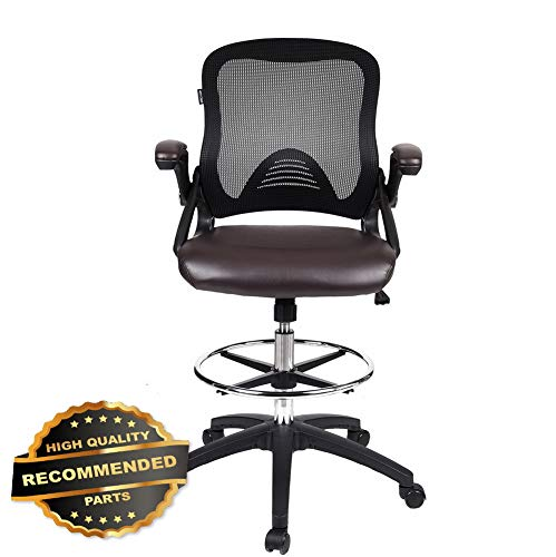 (VON RACER Mutifunctional Memory Foam Gaming Chair - Adjustable Mesh Lumbar Support and Headrest High-Back Leather E-Sports Racing Computer Chair Ergonomic Executive Office Chair with 2D)