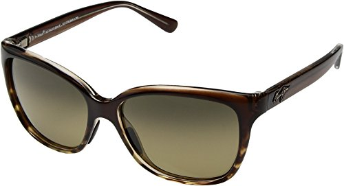 Maui Jim Womens Sunglasses Brown/Bronze Plastic,Nylon - Polarized - - Maui Jim Cat Maui