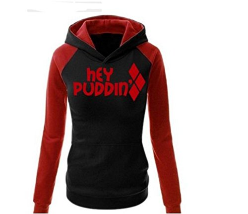 Ahlsengg Suicide Team Harley Quinn Jogger Sweater Ladies Sports Sweater -