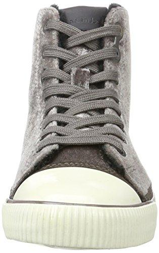 Calvin Klein Dame Debby Fløjl Sneaker Silber (sølv) bLGzxdp