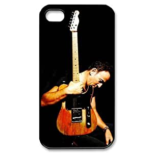 Bruce Springsteen Super Rock Star Custom Hard Plastic Back Case Cover for iPhone 4 4s