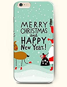 OFFIT iPhone 6 Plus Case 5.5 Inches Merry Christmas and Happy New Year !