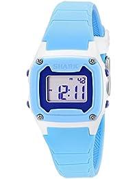 Womens 10019185 Shark Blue Digital Watch