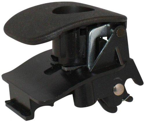 Chevrolet Black Corvette - Chevrolet 15924032 - Corvette Black Glove Box Latch Handle For all C6 Corvettes