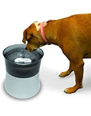 Pioneer Pet Elevated Vortex Pet Drinking Fountain, White, 128 Fluid Ounces (3047)