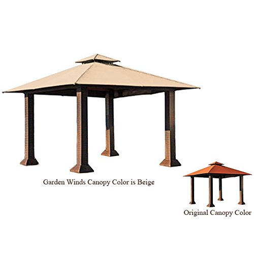 Garden Winds Replacement Canopy for The Barcelona Gazebo - RIPLOCK 500