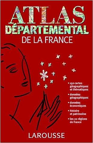Livres gratuits Atlas départemental de la France epub, pdf