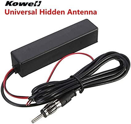 Desconocido KOWELL Antena Universal Oculta para Coche FM/Am ...