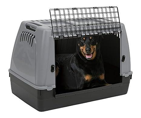 ZOLUX - Jaula de Transporte para Perro de 100 x 60 x 65 cm: Amazon ...