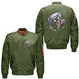 Fairy Story Character Print Bomber Jacket Men Flight Jacket