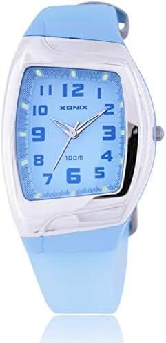 Stylish classic retro colorful waterproof girls quartz watch-A