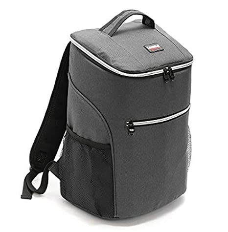 ad2ec4ec20a8 JUMO Insulated Backpack Cooler Bag Waterproof Soft Lunch Ice Cooler Backpack  Large Capacity for Men Women Beach Hiking Picnic Fishing BBQ Cold Beer  25Cans
