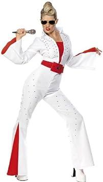 Desconocido Disfraz de Elvis Presley para mujer: Amazon.es ...