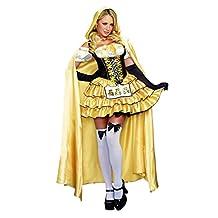 Dreamgirl Women's Goldilocks Fairytale Costume