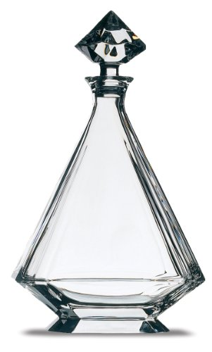Peugeot 230203 12.75 Inch Angulo Lead Crystal Decanter by Peugeot