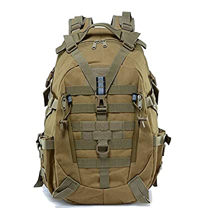 LHI Military Backpack35L 45L Laptop backpack Army Heavy Duty Molle Tactical Backpack Assault Rucksack for Men for Hiking… 1