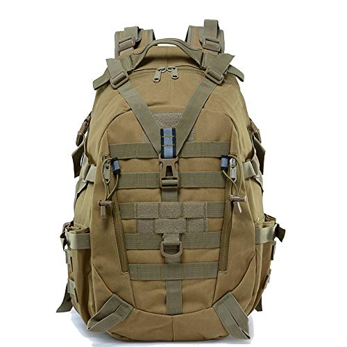 LHI Tactical Backpack 900D with Reflector 40L for Daily Use