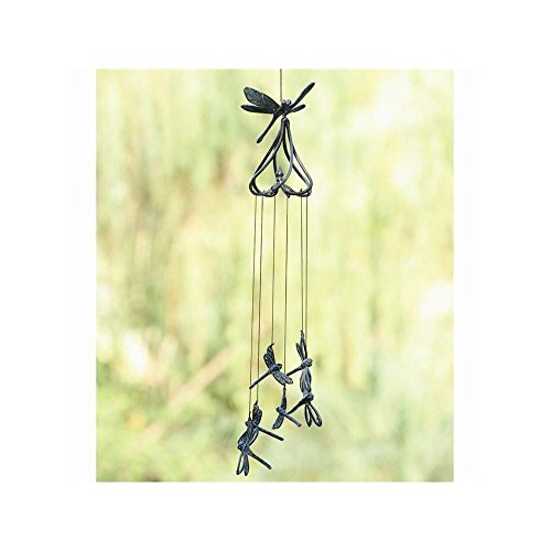 SPI Home 50477 Stylized Dragonfly Wind ()
