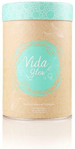 Vida Glow 100% Natural Marine Collagen Original Blend (BULK, 270g Loose Powder, 90 Servings) by Vida Glow (Image #3)'