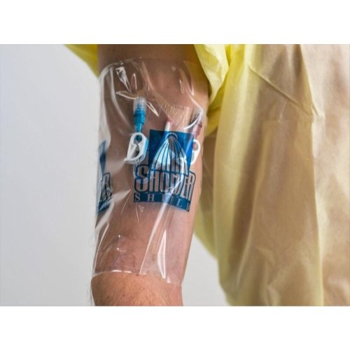 "Shower Shield Catheter Water Barrier, 7"" L x 7"" W"