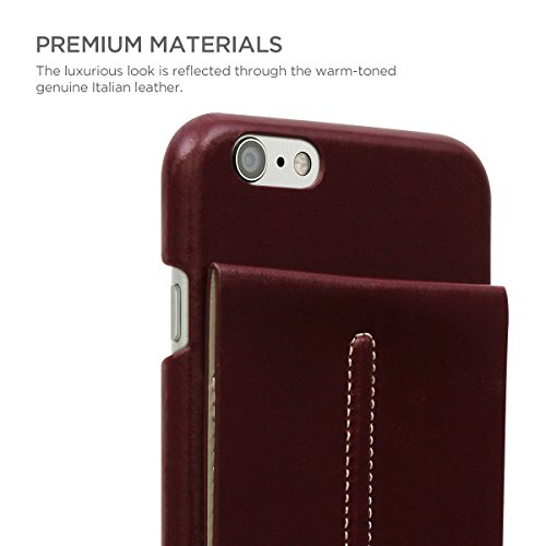 STI:L Stilmind Ange Gardien Coque iPhone 6/6S Rouge