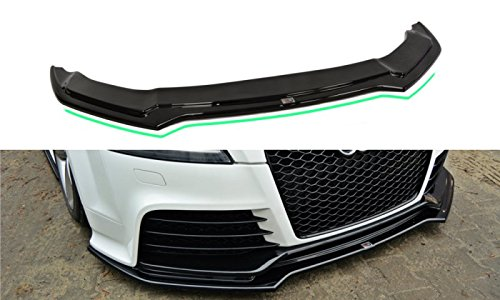 Maxton Design Front Splitter V.2 Compatible with Audi TT Mk2 RS