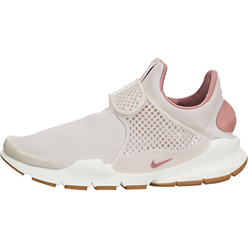 Nike Sock Dart PRM Womens Fashion-Sneakers 881186-601_7 - SILT RED/SILT RED-RED Stardust-SAIL