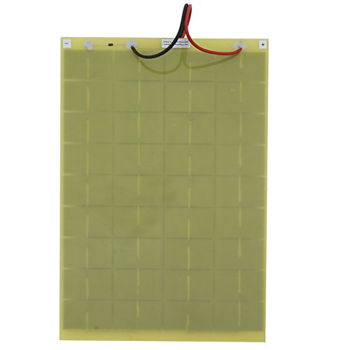 10Watt 18V Epoxy Solar Panel with Battery Clips Ideal For 12V Battery Charger For Car RV Boat Camping by ECO LLC (Image #2)