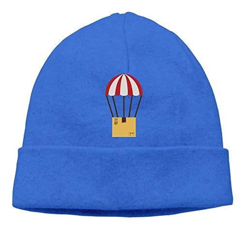 boy Unisex Colorful Parachute with Cardboard Box Classic Fashion Daily Beanie Hat Skull Cap Go Ahead