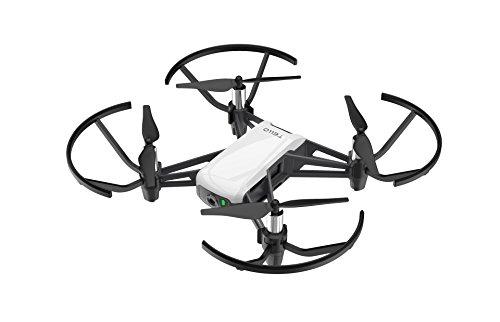 DJI Ryze – Tello Dron pequeño Ideal para Hacer Videos Cortos con Tomas EZ, Compatible con Equipos de RV y Controles remotos, 720p Transmisión en HD y 100m Distancia de Vuelo