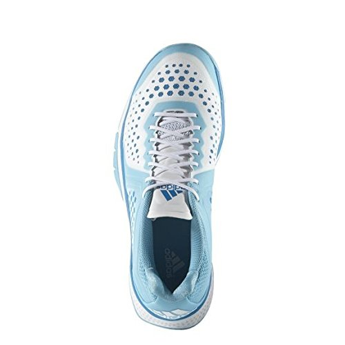 De Handball De De Chaussures Performance Adidas Blanc Féminin Bleu Performance Handball Adidas Féminin Blanc Chaussures De q8RzqwA