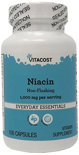 Vitacost Niacin Non – Flushing — 1000 mg per serving – 100 Capsules Review
