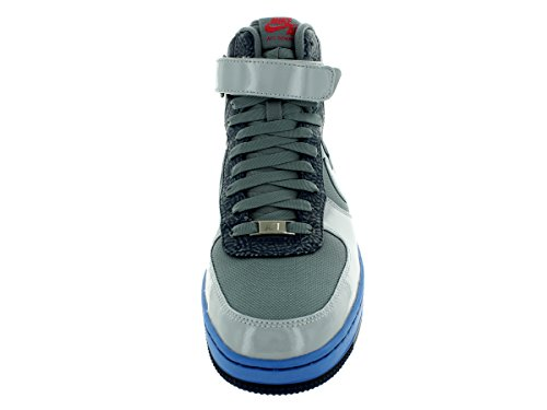 Nike Mens Af1 Centre Chaussures De Basket-ball Salut Cl Gry / Gry / Mi Nvy / Dstnc Bl