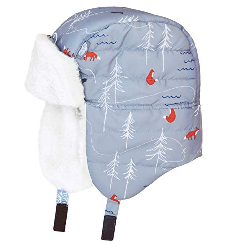 Cozy Muff Thinsulate (JAN & JUL Toddler Boy Ear-Flap Trapper Winter Hat (M, The Rockies))